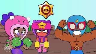 BRAWL STARS ANIMATION: ROSA PRIMO & SANDY