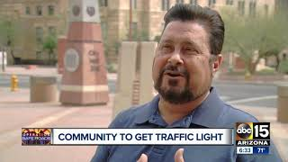 Traffic light coming to 39th Avenue and Southern after deadly crashes and protests