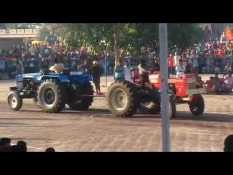 sawraj 855 vs sonalika in punjab || tractors zone ||