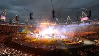 London 2012: Opening Ceremony Commences