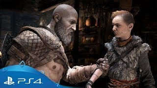 God of War   Fighting with Atreus   PS4
