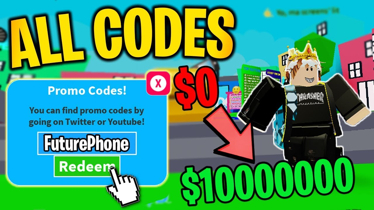 All Codes In Texting Simulator Update 5 Roblox Youtube