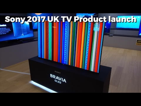 Sony A1 OLED and XE93, XE94 and More UK TV Launch