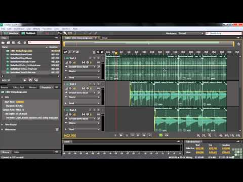 Adobe Audition CS6 Tutorial  Working with Loops  InfiniteSkills