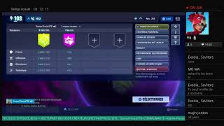 LIVE FORTNITE SAUVER THE WORLD I OFFER NOCTURNO 130 - HELP ABONNER - EXCHANGE!