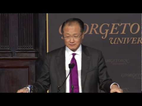World Bank President Jim Yong Kim Says Culture Need Not Bar Equality for Women