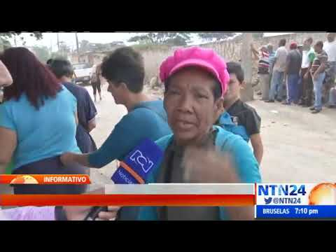 Venezolanos se vuelcan a Cúcuta en búsqueda de un plato de comida