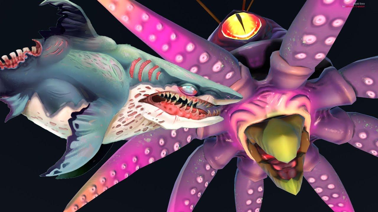Zombie Megalodon Vs Kraken Hungry Shark World Boss Battle ...