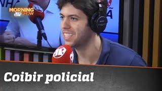 """Caio Coppolla: """"Coibir policial de neutralizar bandido é inversão de valores"""""""