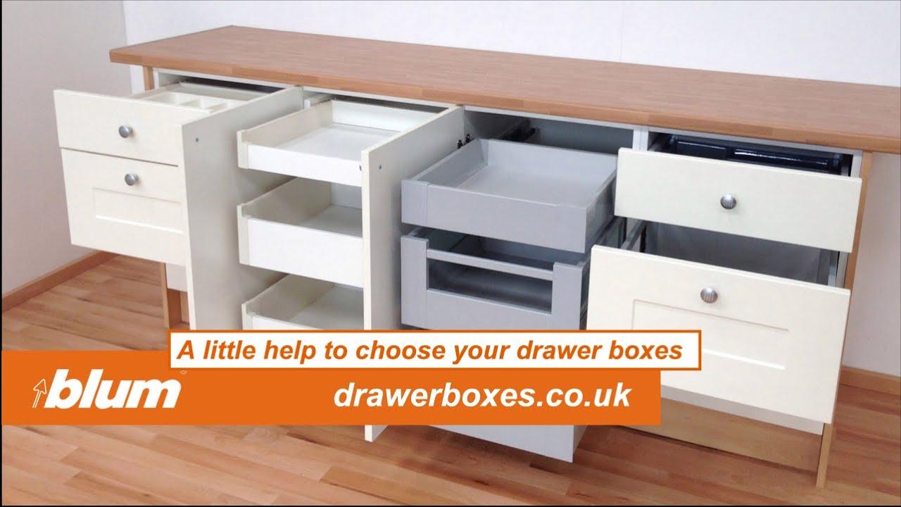 HELP TO CHOOSE KITCHEN DRAWER BOXES - Blum Metabox or ...