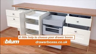 HELP TO CHOOSE KITCHEN DRAWER BOXES - Blum Metabox or Tandembox Antaro