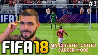 Fifa 18 manchester united career mode | episode #3 - penalty shootout drama!