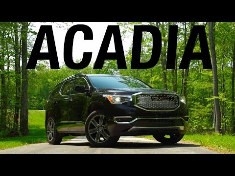 2017 GMC Acadia Quick Drive | Consumer Reports