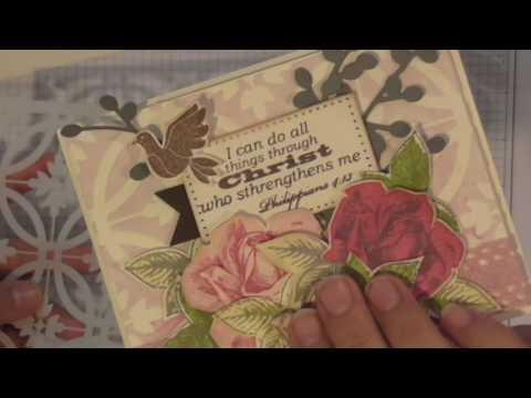 Summer Rose Card Tutorial