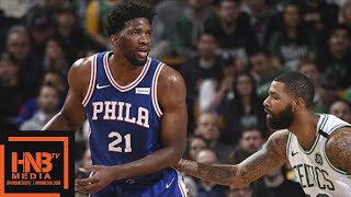 Boston Celtics vs Philadelphia Sixers Full Game Highlights / Jan 18 / 2017-18 NBA Season