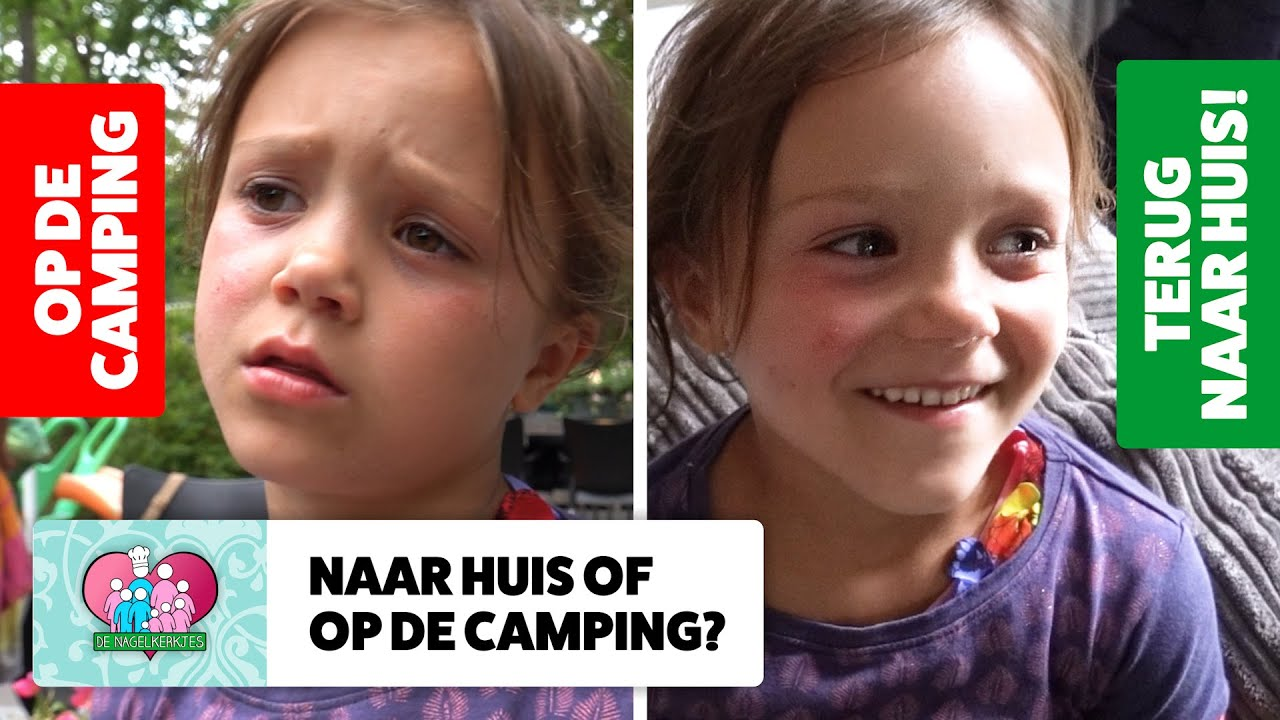 FAMILIE OVERLEG: CAMPING of NAAR HUIS? - #649