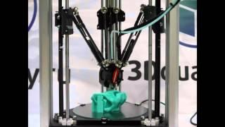 видео 3D принтер Prism Special Dual