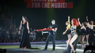 Скачать Anise K Feat Ηβη Αδαμου Shaya Walking On Air MAD VMA 2013 By Vodafone