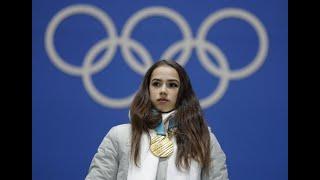 Russian figure skater Alina Zagitova gets gold medal, but no national anthem