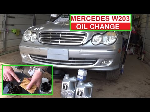 How change transmission fluid on 2007 e320 bluetec autos for Mercedes benz e350 oil change