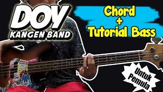 Download Bas Cover dan Chord Doy - Kangen Band (Untuk Pemula)