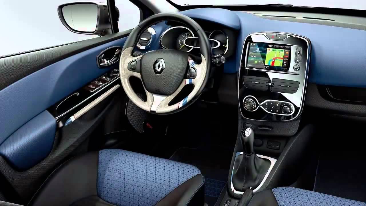 Car Interior 2013 Renault Clio Estate - YouTube