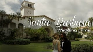 Santa Barbara County Courthouse Wedding and Sunken Gardens