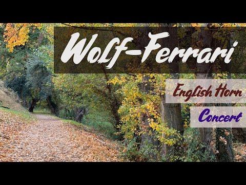 Wolf Ferrari. English horn Concertino