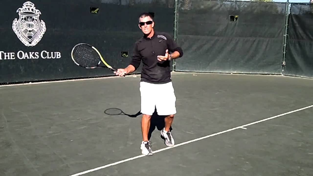 how to teach topspin in tennis
