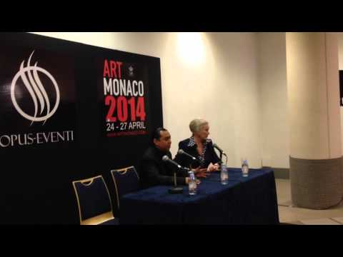 CONFÉRENCE DE PRESSE DU MONACO ART SHOW 2014