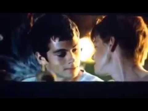 The Scorch Trials Thomas And Teresa Kiss