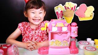 세라의 팝콘 가게에서 파랑이 생일을? 라임이의 클레이 점토 만들기 장난감 놀이 LimeTube & Toy 라임튜브