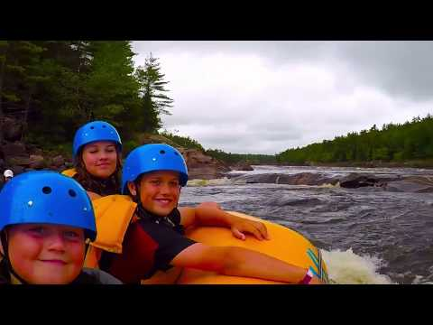 Adventure rafting with Owl on Ottawa river