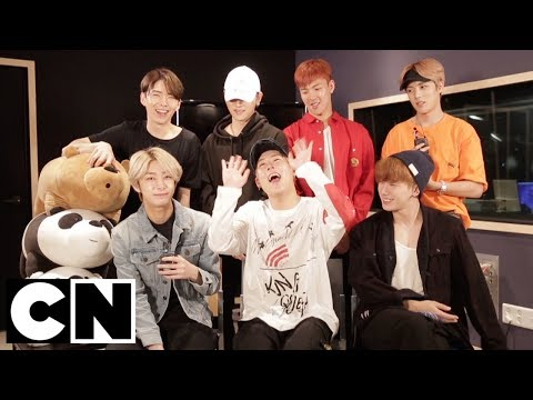 We Bare Bears | Exclusive Monsta X Interview 🎵| Cartoon Network