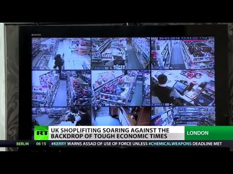Poverty Crime: UK shoplifting soaring as tough economic times bite deeper