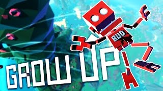 grow up gameplay there s a humongous fungus among us let s play grow up part 1