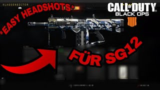 Beste methode um headshots mit der SG12 zu machen!!!Call of duty black ops4 Klassen guide