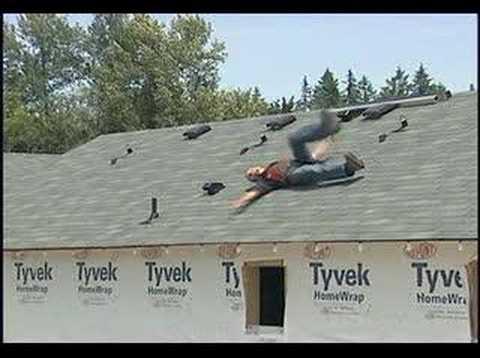 Falling Off Roof Hometips Com Youtube