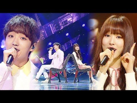 《ADORABLE》 YUJU & SUNYOUL(유주&선율) – Cherish(보일 듯 말 듯) @인기가요 Inkigayo 20160320