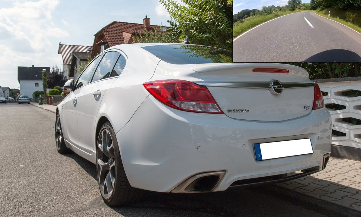 opel insignia opc 2 8 v6 turbo 325hp driving rear view with gopro hd 2 sound check youtube. Black Bedroom Furniture Sets. Home Design Ideas