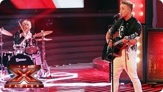 Sam Callahan sings Faith by George Michael  - Live Week 6 - The X Factor 2013