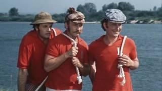 Приставучих,надоедливых мужчин Трое в лодке не считая собаки