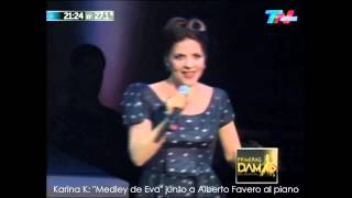 "Video Primeras Damas 2013 (TN): Karina K ""Tributo a Eva"" download MP3, 3GP, MP4, WEBM, AVI, FLV Oktober 2018"