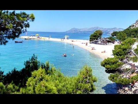 Beauty of Riviera Makarska. Summer of 2016 Baska Voda, Brela, Makarska, Croatia