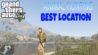 GTA 5 PC Animals Hunting   Best Location For Hunting In GTA 5