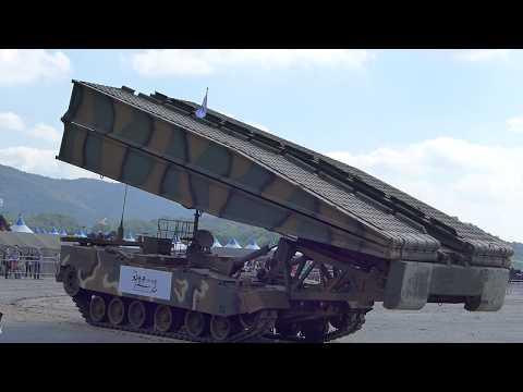 ROK Army Festival 2017, K1 AVLB Span Folding