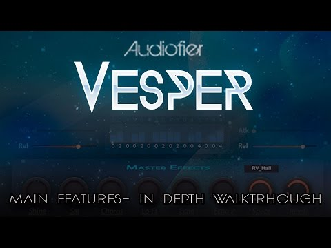 VESPER - For Kontakt 5.5 - In depth walkthrough.