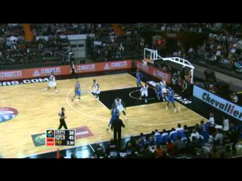 Dominican Republic Vs. Puerto Rico / 2011 FIBA Americas Championship Round 2
