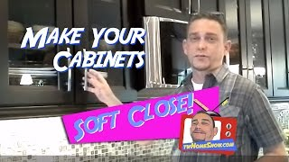 Soft Close Kitchen Cabinet Doors: Easy DIY Project!