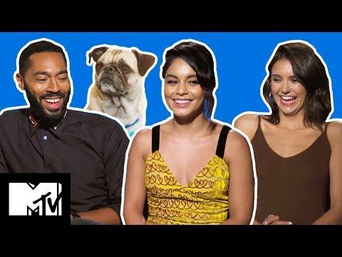 Dog Days Cast Play NAME THE DOG & Vanessa Hudgens Talks New High School Musical Movie | MTV Movies